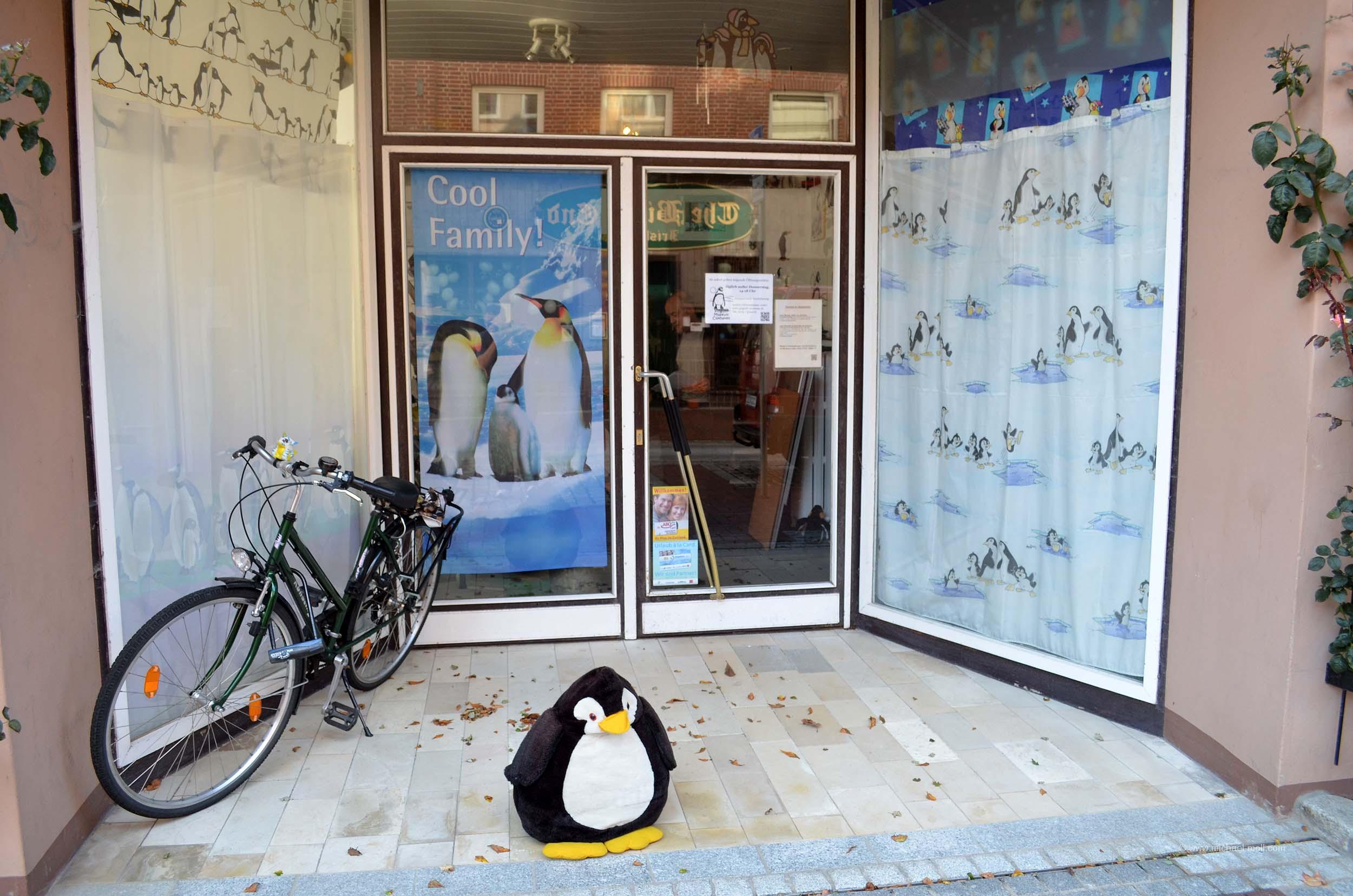 Eingang vom Pinguinmuseum