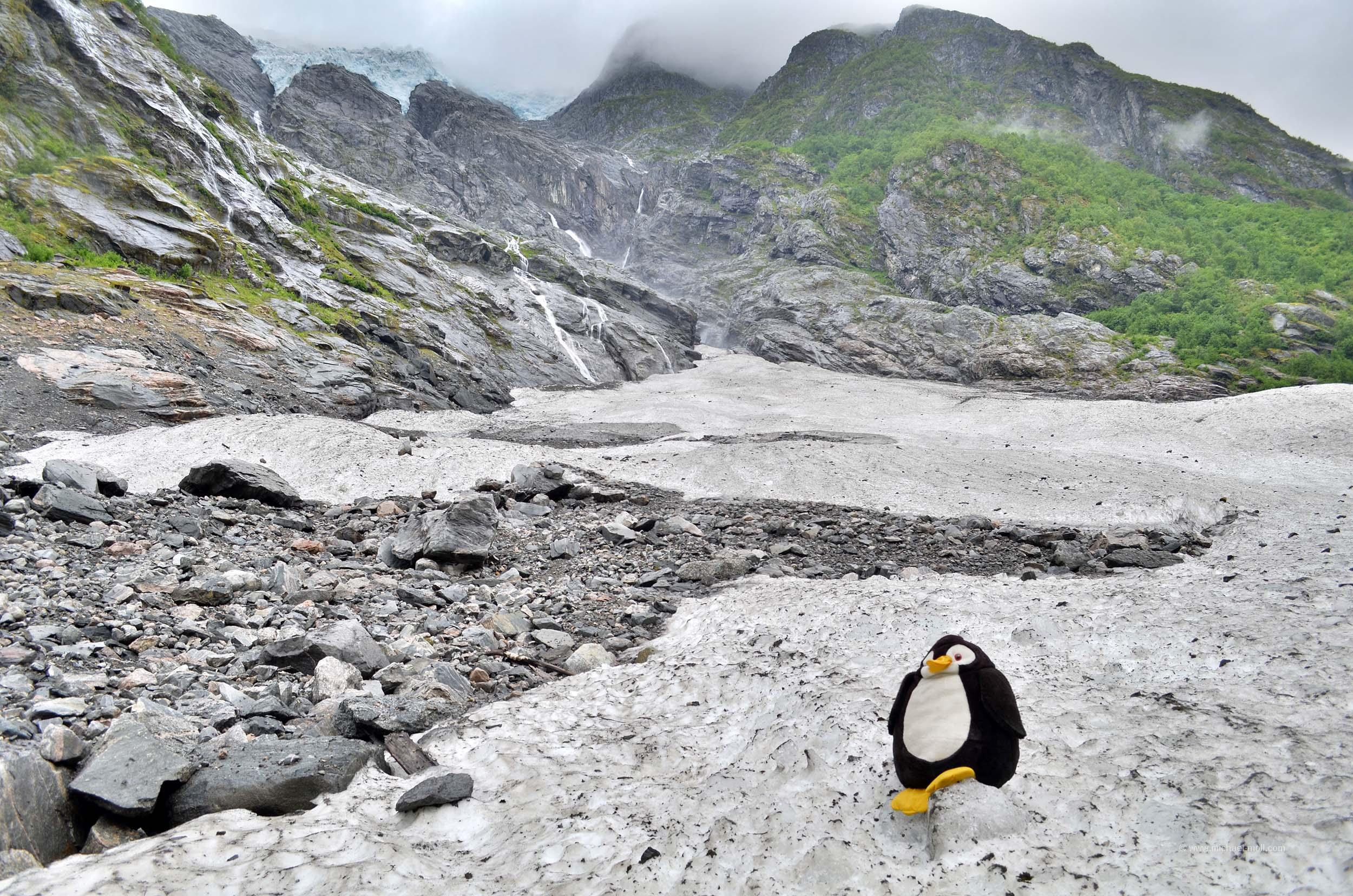 Gletscher Jostedalsbreen