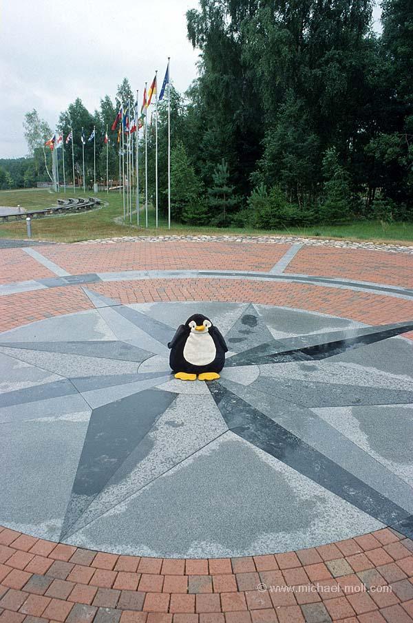 Mittelpunkt Europas in Litauen