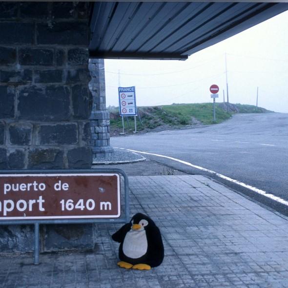Somportpass in den Pyrenäen