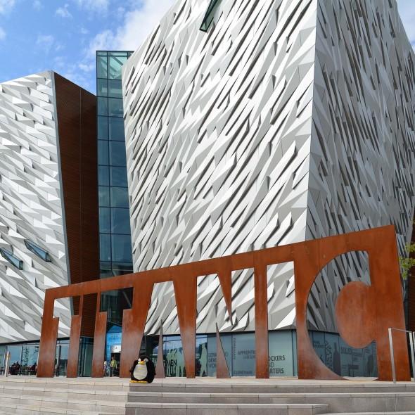 Titanic Ausstellung in Belfast
