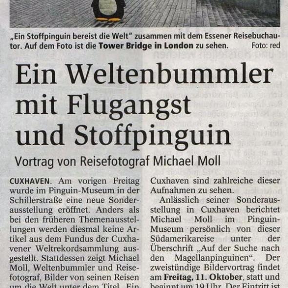 Zeitungsartikel-Ausstellung