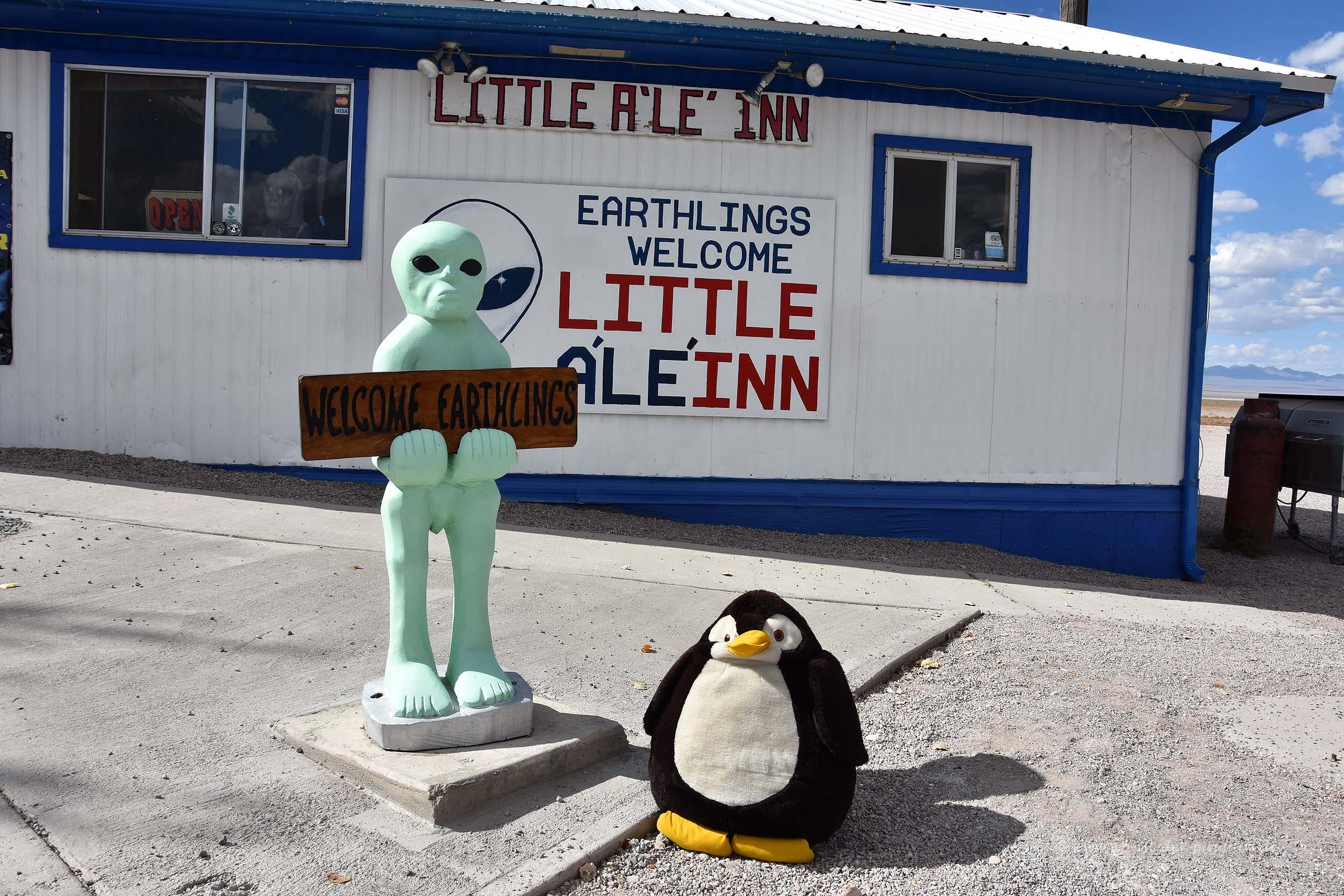 ET Highway am Little Aleinn
