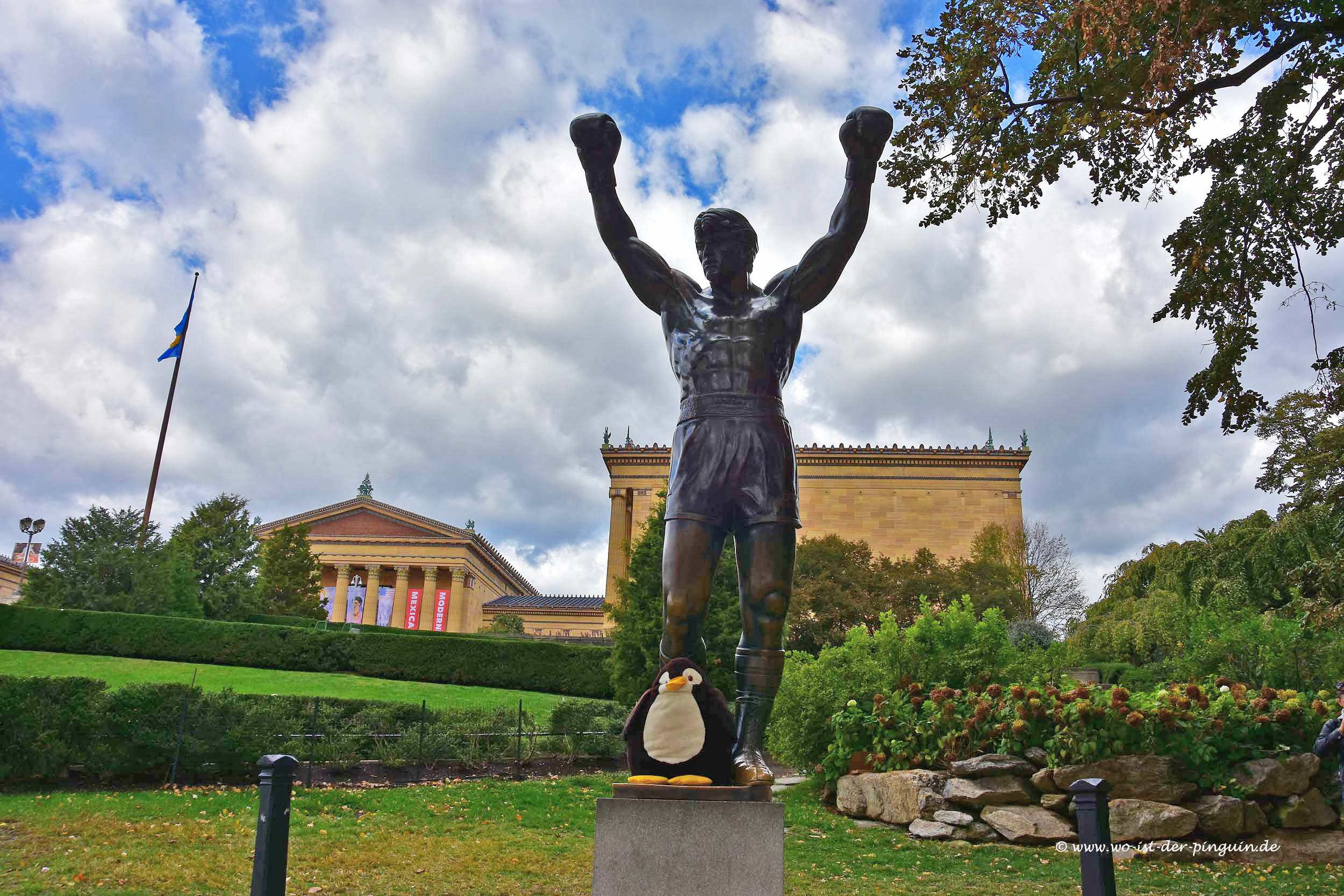 Rocky-Figur in Philadelphia