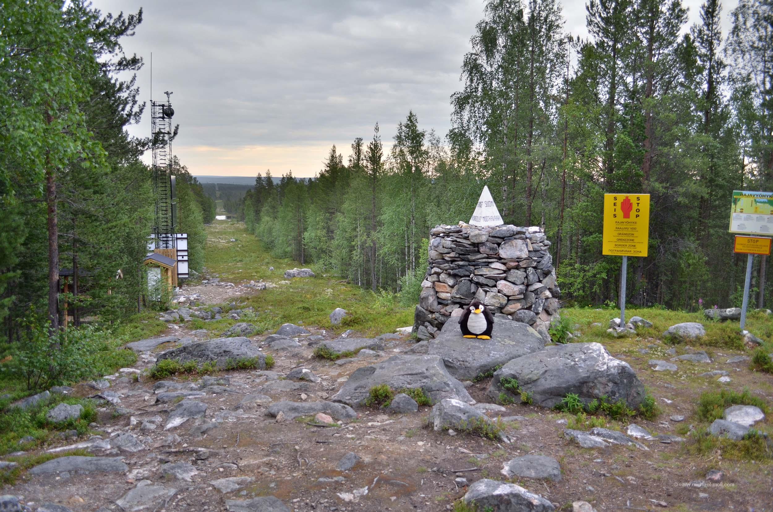 Dreiländereck Russland-Finnland-Norwegen