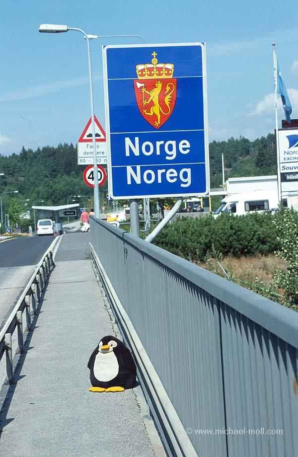 Halden in Norwegen