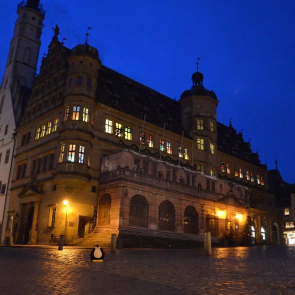 Rathaus in Rothenburg ob der Tauber