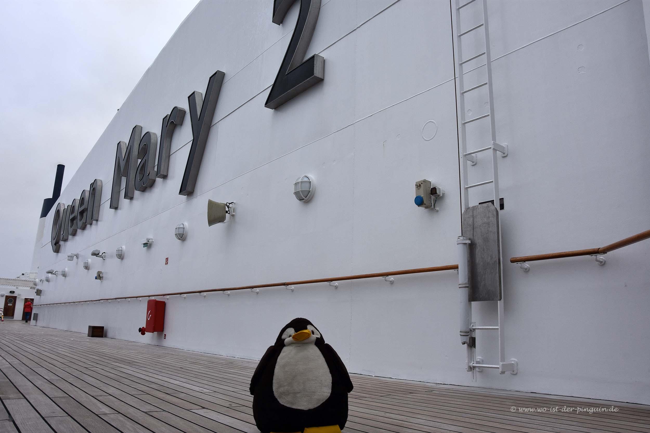 Queen Mary 2 - Außendeck