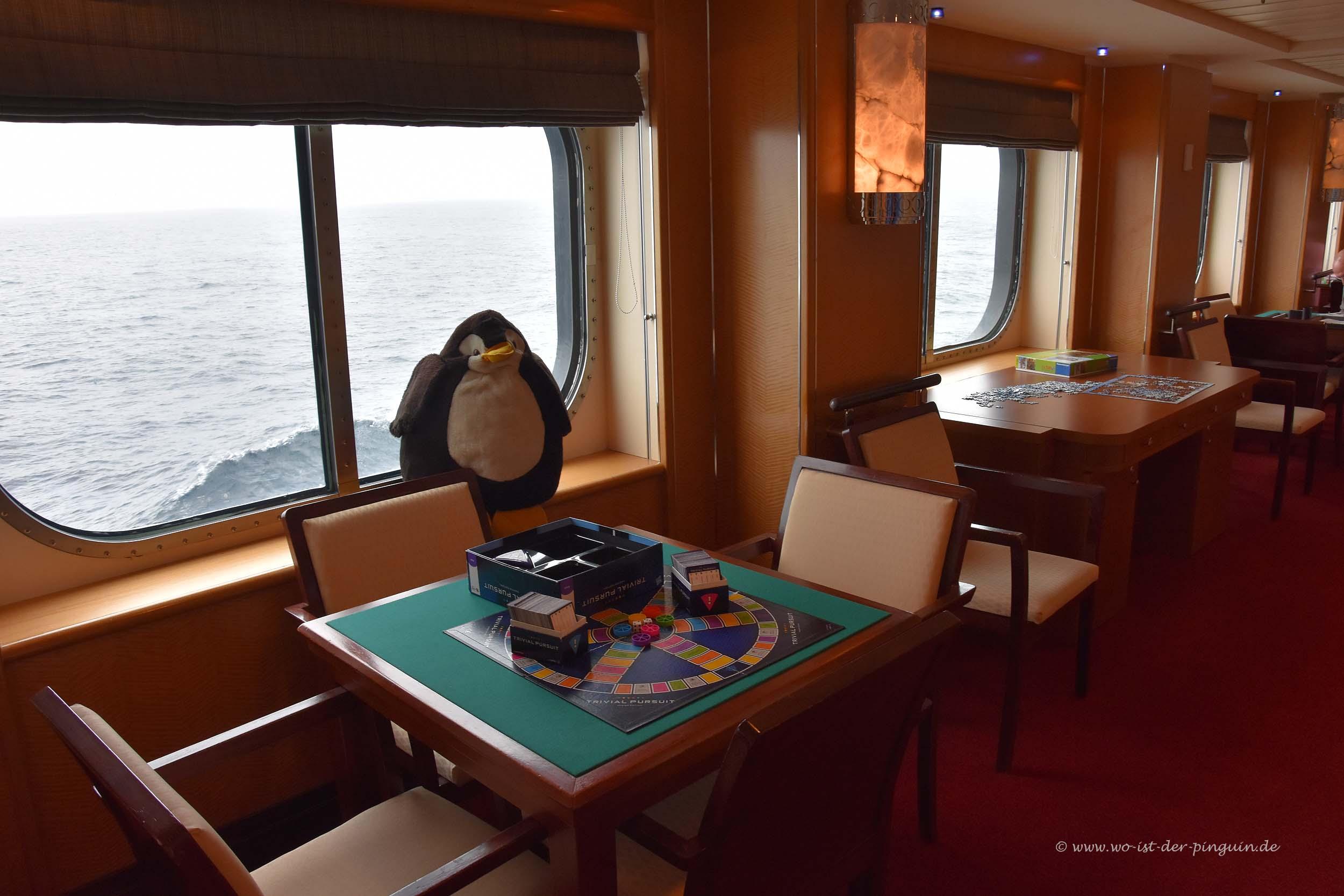 Queen Mary 2-Spieltisch