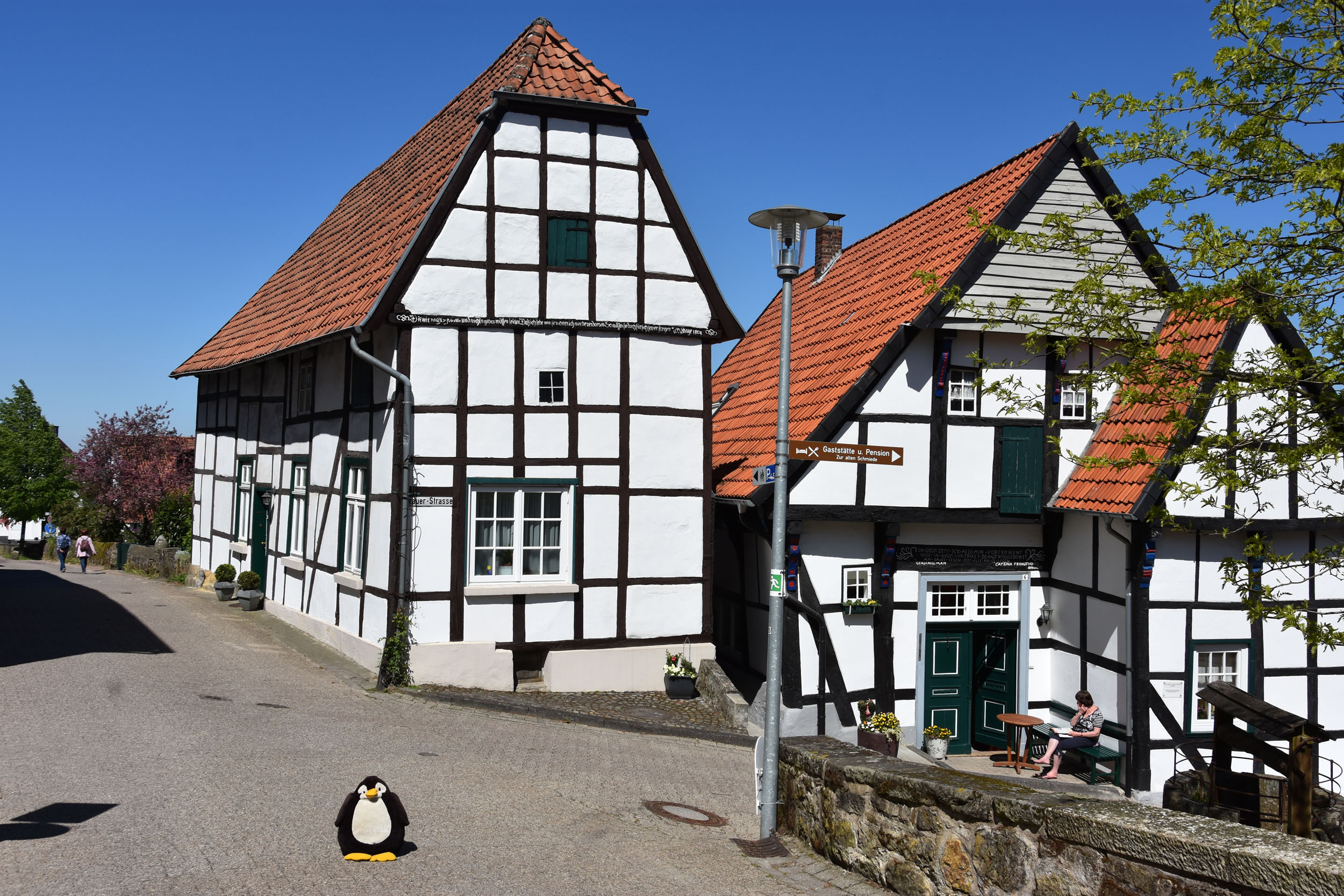 Pingu in Tecklenburg