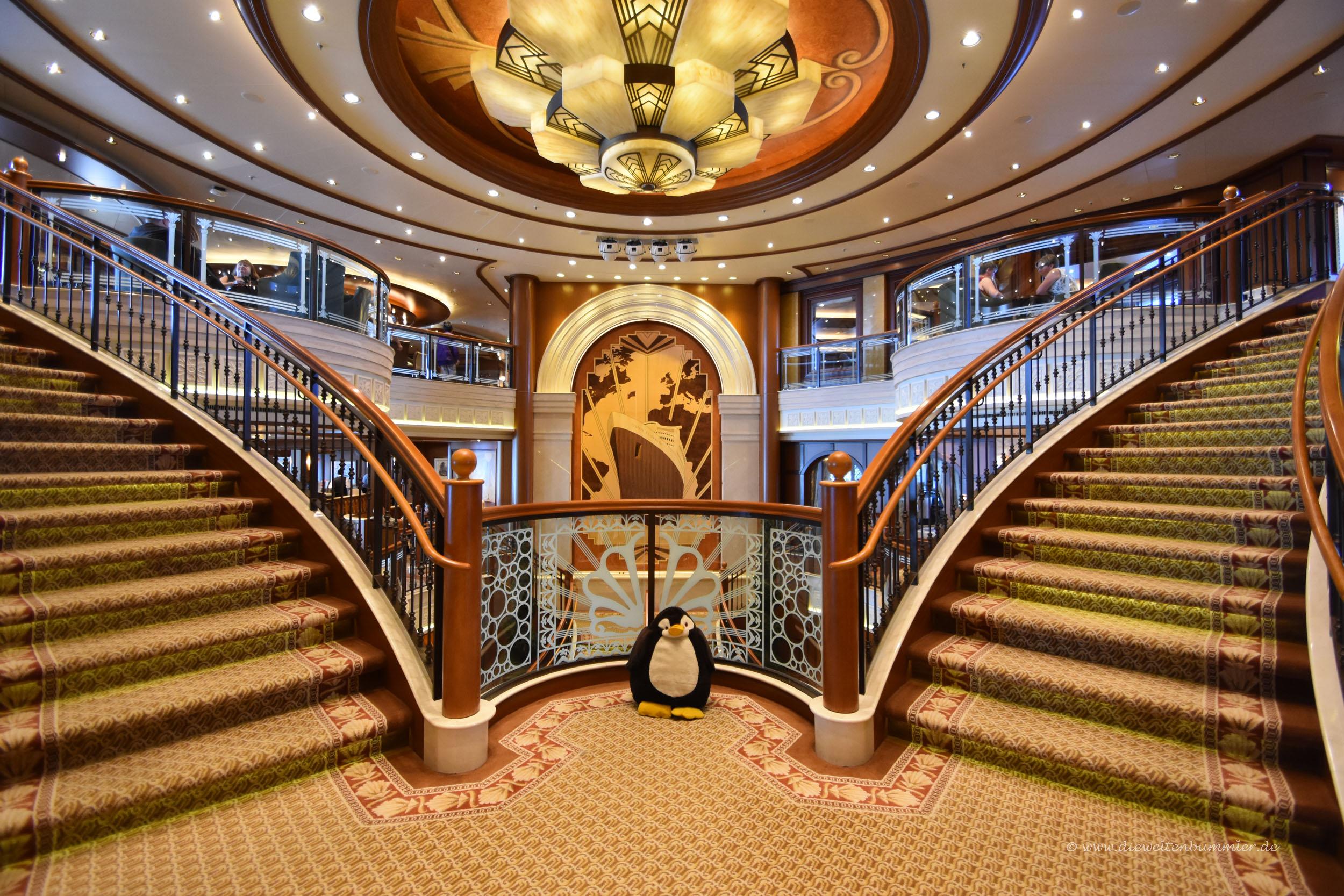 Treppe der Queen Elizabeth